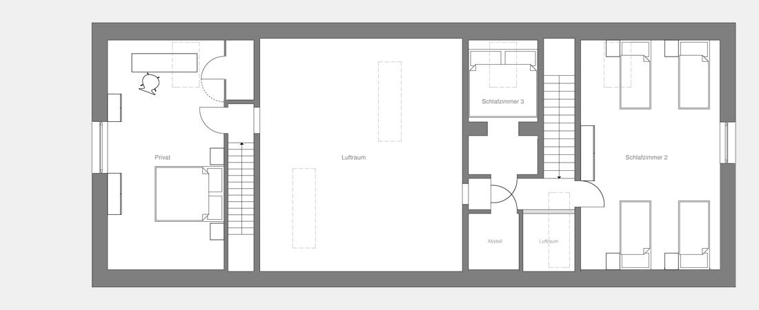 Grundriss architektur stadtvilla offener grundriss for Architektur einfamilienhaus grundrisse